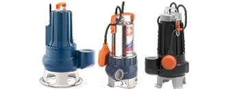 Dykpumper til vand/spildevand
