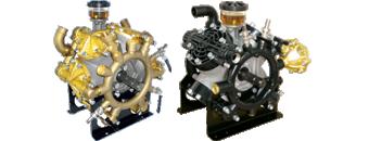 Akselkoblede pumper